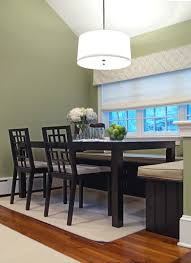 kitchen nook lighting. Breakfast Nook In Kitchen Can Double As A Supervised Homework Station During The School Year. Lighting