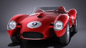 Ferrari 250 Testa Rossa 1957 1958 Vray