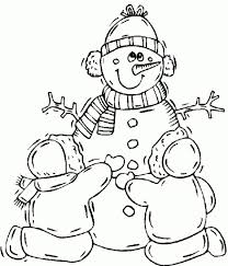 Free Printable Winter Coloring Pages to Inspire to color an image ...