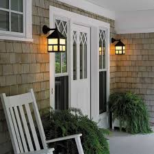 porch lighting fixtures. Porch With White Door And Cottage Wall Sconces : Outdoor Lighting Fixtures E