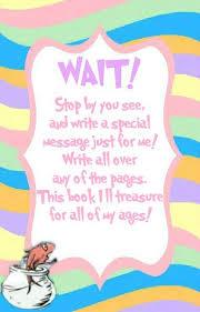 Baby Shower Books For Baby Request Cards U2013 DistinctivsBaby Shower Message Book