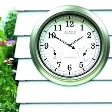 indoor outdoor temperature clock large slim projection clock with indoor outdoor temperature atomic digital clock with