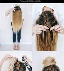 Coiffure Femme Cheveux Long Facile Tuto Coiffure Chignon