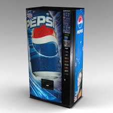Pepsi Vending Machine Beauteous Pepsi Vending Machine 48d Max