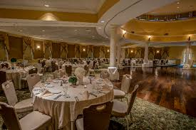 west s country club provides round and rectangular tables chairs standard table settings and linens skirting included in your all inclusive wedding