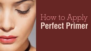 makeup lockdown 2 wear to apply foundation primer how to apply the perfect primer