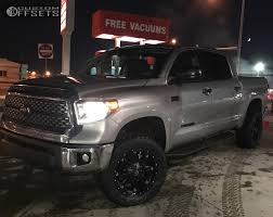 1 2018 tundra toyota toytec lifts suspension lift 3in fuel hose matte black