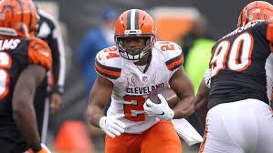 Cleveland Browns Rb Depth Chart Browns Running Back Depth Chart Following Duke Johnson Trade