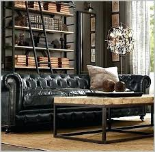 restoration hardware leather couch. Restoration Hardware Maxwell Leather Sofa Living Room Looks Like . Couch