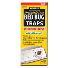 Harris All Natural Bed Bug Traps 4 Pack