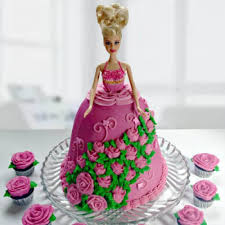 Barbie Cake Fresh Fondant Cake For Your Loved One