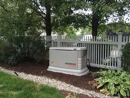 generac home generators. 22kw Generac Home Generator Install \u2013 New Canaan CT Generators