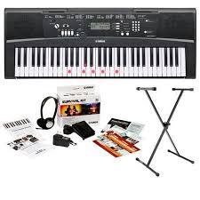 yamaha ez 220. yamaha ez 220 61 lighted key portable keyboard with b2