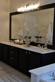 Dark bathroom vanity Dark Walnut Moorgard Black Vanity Black Cabinets Bathroom Dark Cabinets Bathroom Black Black And White Pinterest 62 Best Dark Bathroom Vanity Images Bathroom Bathroom Furniture
