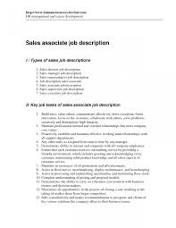Marketing Assistant Job Description For Resume Retail Sales Associate Job Duties For Resume Templates Photo 23