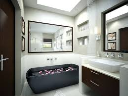 modern bathroom design 2014. Fine Modern Small Bathroom Design Ideas Modern Large Size White Wall  Paint Skylights Mirror With Wooden Inside Modern Bathroom Design 2014 E