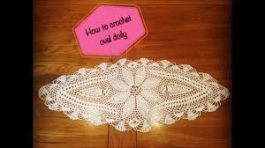 Crochet Oval Pattern Custom Inspiration