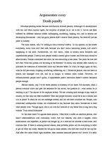 Esl essay sample   Persuasive essay capital punishment