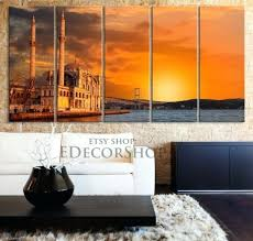 large wall art canvas large wall art canvas turkey mosque with bridge print 5 panel wall big lots canvas wall art on big lots canvas wall art with wall arts large wall art canvas large wall art canvas turkey