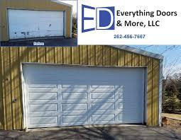 garage door installation and service