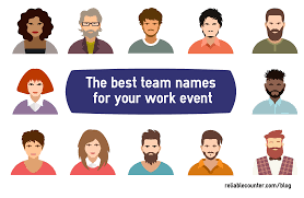 How To Be A Good Team Leader At Work Choosing The Best Team Names For Your Work Event