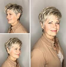 Hairstyles Choppy Short Hairstyles For Older Women Cute 22