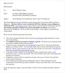 Meeting Memo Template 18 Free Word Pdf Documents Download Free