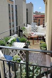 small terrace furniture. balcony design ideas wooden tiles plants furniture small terrace