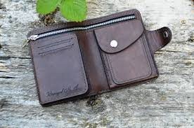 wallets business card holders handmade livemaster handmade men s personalized leather wallet