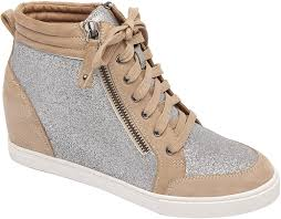 Designer Wedge Sneakers On Sale Amazon Com Linea Paolo Niya Street Style Leather Or