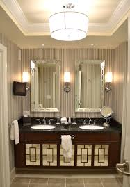 modern bathroom wall sconces. Bathroom:Modern Bathroom Design With Brown Vanity Cabinets And Double Sink Vaniy Plus Battery Operated Modern Wall Sconces