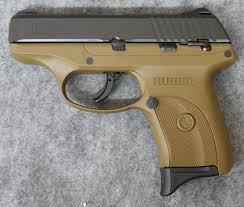 ruger lc9s 9mm pistol flat dark earth