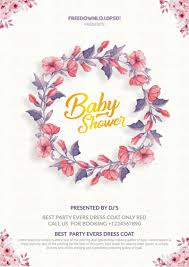 shower invitation templates baby shower invitation templates freedownloadpsd com