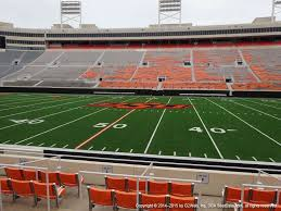Boone Pickens Stadium View From Lower Level 104 Vivid Seats