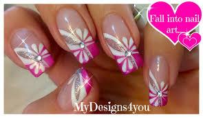 Floral Pink Nail Art | Spring-Summer Nails ♥ Цветочный Дизайн ...