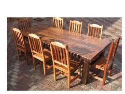 sleeper wood 6 dining set