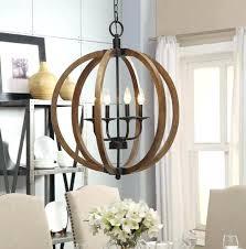 wooden rectangular chandelier farmhouse dining room lighting vineyard orb wood square lantern rustic metal and
