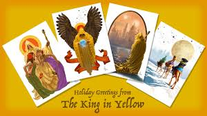 The King in Yellow Christmas Cards by Studio WonderCabinet ...