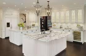 image of white cabinets black granite what color backsplash
