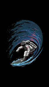 Space iphone wallpaper, Astronaut wallpaper