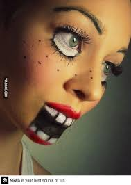 pretty zombie makeup ideas photo 1