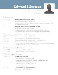 Modern Resume Template Open Office Open Office Resume Template Resume Template Openoffice Resume Open