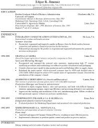 One Page Resume Example Stunning How To Write A One Page Resume Ideas Of Example Of Good One Page