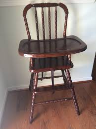 attractive wooden high chair with tray of wood high chair tray hardwarewooden high chair with lift