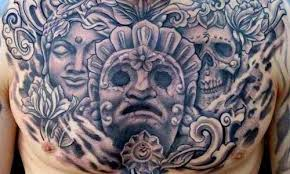 Aztec Tattoo Patterns Delectable Meanings Of Aztec Tattoos Art And Design