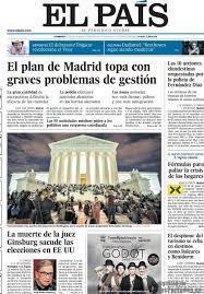 Periodico El País - 20/9/2020