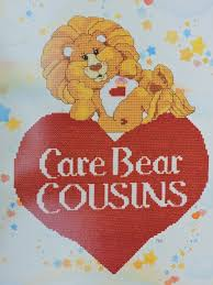 Care Bear Cousins Designs Cross Stitch Needlework Paragon