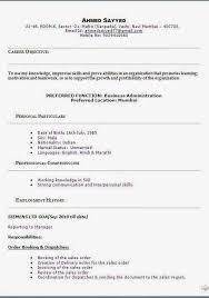 Biodata Model Sample Template Example Ofexcellent Curriculum Vitae
