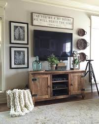 Console Decor Ideas 35 Rustic Farmhouse Living Room Design And Decor Ideas For Your