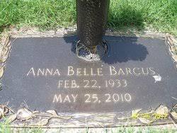 Annabelle Sutton Barcus (1933-2010) - Find A Grave Memorial